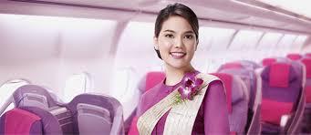 Thai Girl Flugzeug